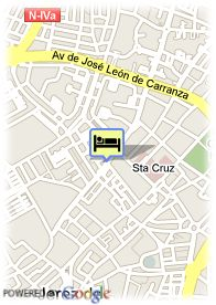 map-Hotel Guadalete