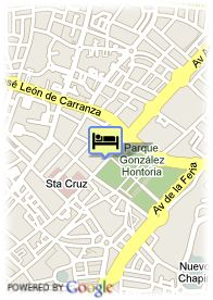 map-Hotel Jerez and Spa