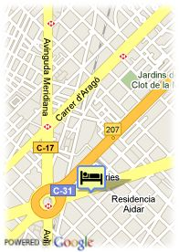 map-Hotel Silken Diagonal
