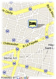 map-Hotel La Tour D Auvergne