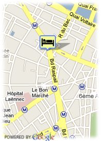map-Hotel K+K Cayre