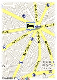 map-Hotel Royal Elysees