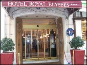 Hotel Royal Elysees in Parijs