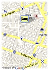 map-Hotel Caravelle