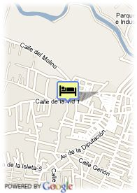 map-Hotel Alboran Chiclana