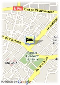 map-Hotel Jerez & Spa