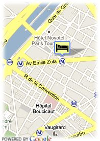 map-Hotel Beaugrenelle St Charles
