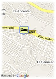 map-Hotel Los Jandalos Vistahermosa & Spa
