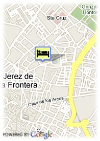 map-Hotel Los Jandalos Jerez & Spa