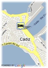 map-Hotel Senator Cadiz Spa