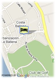 map-Hotel Gran Colon Costa Ballena