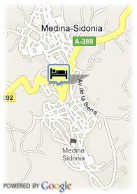 map-Hotel Spa Almedina Golf