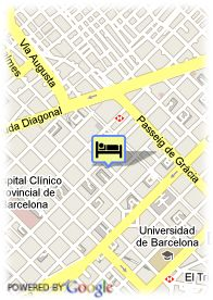 map-Hotel Barcelona Center