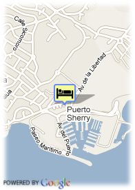 map-Hotel Puerto Sherry