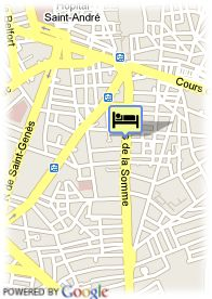map-Appart Hotel Victoria Garden Bordeaux