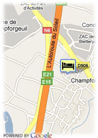 map-Hotel Saint Georges