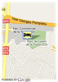 map-Hotel Dijon Centre