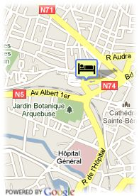 map-Hotel Kyriad Dijon Centre