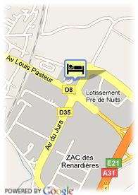 map-Hotel Le Saint Georges