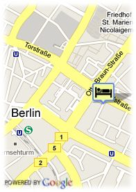 map-Hotel Agon Am Alexanderplatz