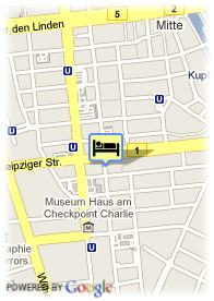 map-City Partner Hotel am Gendarmenmarkt