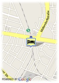 map-Hotel Georghof Berlin