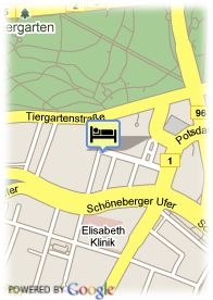 map-Hotel Altberlin Am Potsdamer Platz