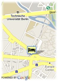 map-Hotel Belmondo Am Kurfurstendamm
