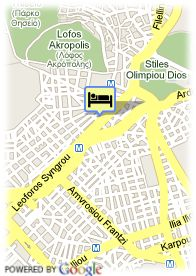 map-Athenian Callirhoe Exclusive Hotel