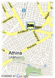 map-Hotel Classical Athens Imperial