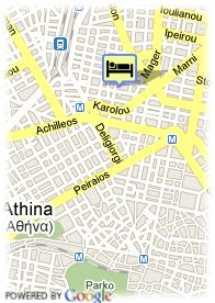 map-Hotel Art Athens