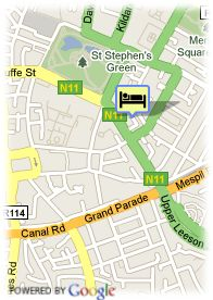map-Hotel The Leeson Inn Downtown