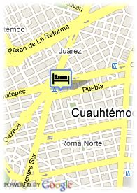 map-Hotel Segovia  Regency