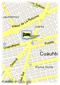 map-Hotel Royal Zona Rosa
