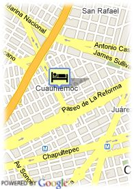 map-Hotel Suites San Marino
