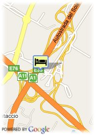 map-Hotel Unaway Firenze Nord