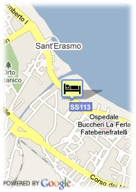 map-Hotel San Paolo Palace