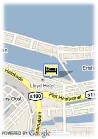 map-Hotel LLoyd & Cultural Embassy
