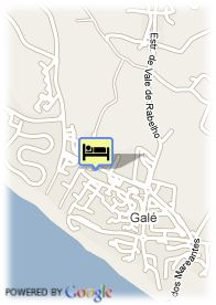 map-Hotel Vila Gale Atlantico