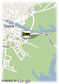 map-Hotel Vila Gale Tavira