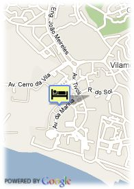 map-Hotel Vila Gale Marina