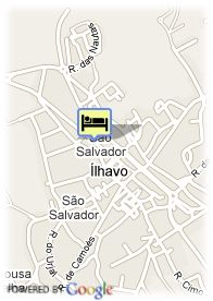 map-Hotel Ilhavo
