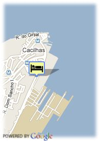 map-Hotel Estalagem Do Sado