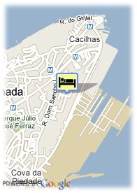 map-Hotel Do Sado Business and Nature