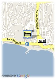 map-Hotel Palacio De Estoril