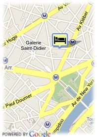 map-Hotel Floride Etoile