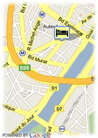 map-Coeur De City Hotel Paris Tour Eiffel