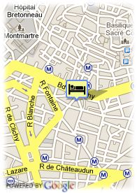 map-Hotel Atlanta Frochot