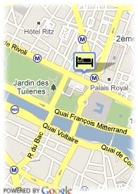 map-Hotel Normandy