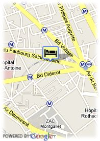 map-Hotel Patio Saint Antoine